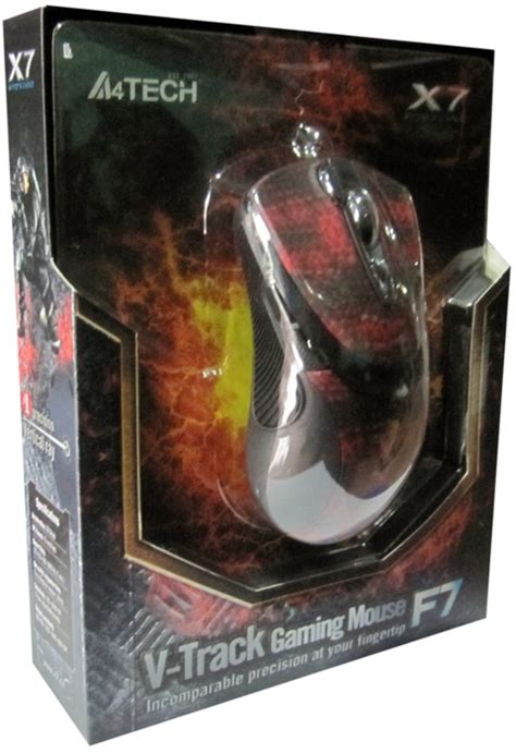 A4tech X7 F7 V Track Mouse Macro Gaming mouse gaming a4tech x7 f7