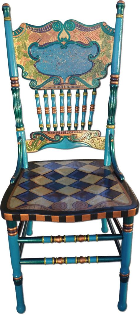 painted chairs images 25 best ideas about painted rocking chairs on pinterest