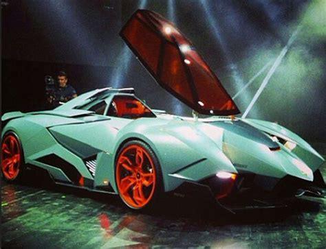 Egoist Lamborghini Neon Blue Lamborghini Egoista Lamborghini Egoista Blue