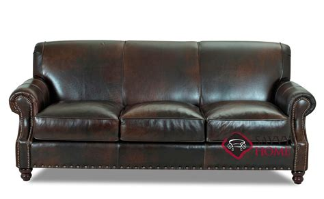 savvy leather sofas fairbanks leather sofa by savvy is fully customizable by