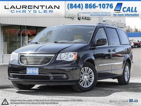 luxury minivan 2016 pre owned 2016 chrysler town country the