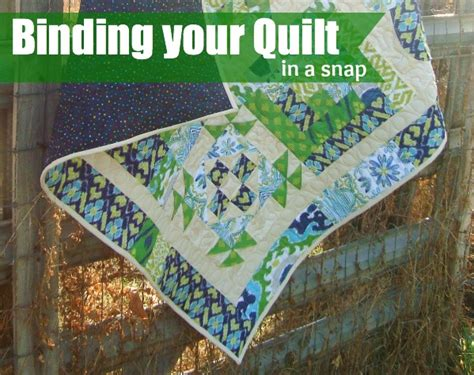 For Binding A Quilt by Binding Your Quilt As A Fox Quilt Along The
