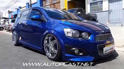 Auto R Tuning Bodykits by Chevrolet Sonic Bodykit Y Suspension Neumatica Autoplast