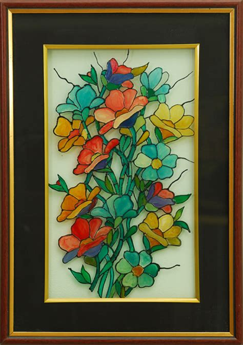 flower design for glass painting quotes about glass painting 49 quotes