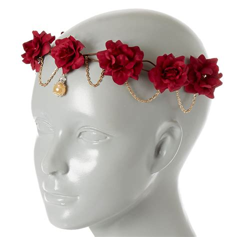 Pink Begonia Flowercrown flower crown flowers ideas for review