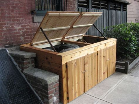 diy outdoor trash can cabinet 300 best images about diy outdoor structures on