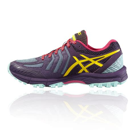 purple running shoes shoes and boots asics gel fujiattack 5 womens running