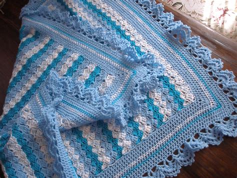 Step By Step Crochet Baby Blanket by Crochet Blanket Beby With Step By Step Crochet Easy Model