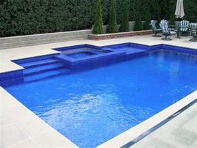 Backyard Pools Spas Triyae Backyard Rectangle Pools Various Design