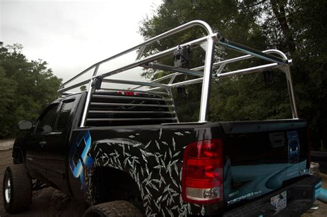 custom aluminum truck ladder racks
