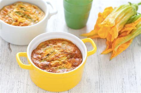 ricette di fiori di zucca ricetta sformatini di fiori di zucca cucchiaio d argento