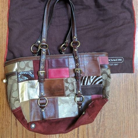 Coach Patchwork Gallery Tote - 54 coach handbags coach patchwork gallery