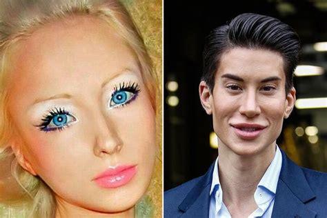 valeria lukyanova and ken valeria lukyonova human barbie doll described as