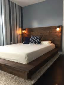 wooden platform bed frame best 25 wood bed frames ideas on bed frames