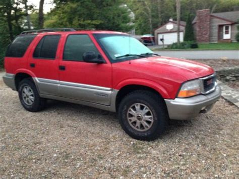 car engine repair manual 1998 gmc jimmy electronic toll collection sell used 1998 gmc jimmy slt envoy power seats leather