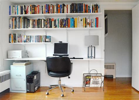 Hanging Shelf Desk by Progress In The Study And How To Build A Hanging Shelving
