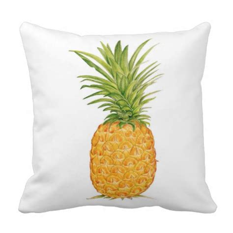 Pineapple Throw Pillow by Hawaiian Pineapple Throw Pillows Zazzle