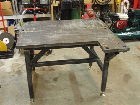 welding table for sale craigslist welding table almost complete yamaha xs650 forum