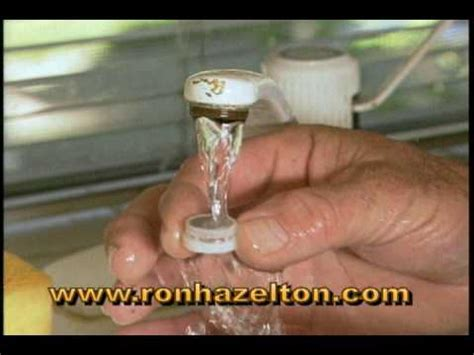 Moen Kitchen Faucet Assembly how to clean a faucet aerator youtube