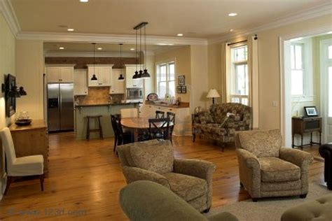 Kitchen Dining Room Floor Plan Ideas House Plans With Kitchen And Dining Room Together