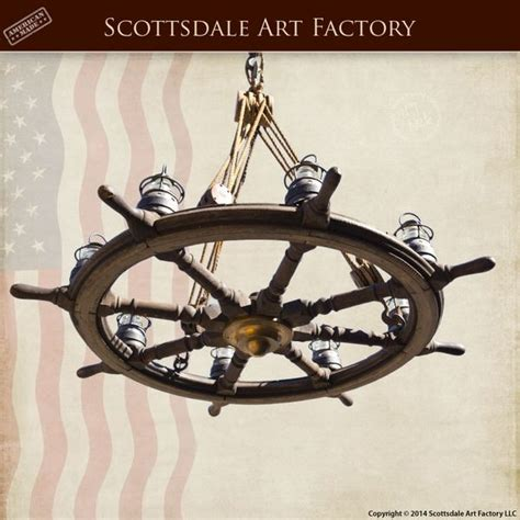 Ship Wheel Chandelier 17 Best Images About Chandeliers On Pinterest Starfish Home And Mermaids