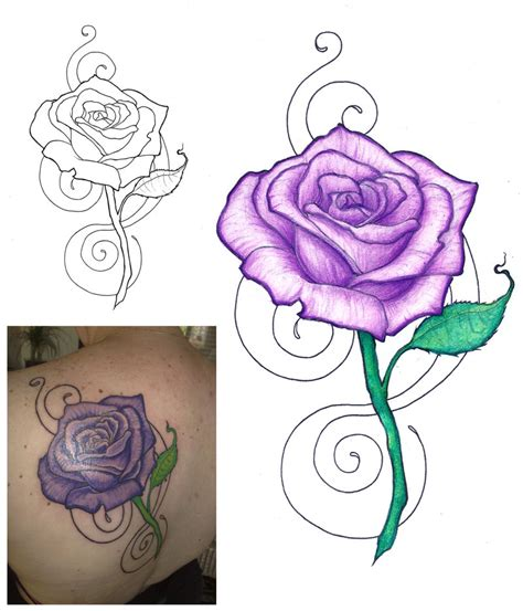 50 beautiful rose tattoo designs entertainmentmesh