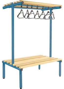 overhead bench 1000mm double sided overhead bench light ash