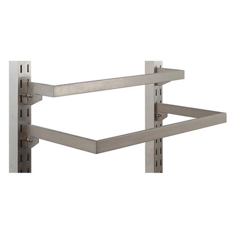 Shelf Standards And Brackets by Adjustable Hangrail Bracket And Fixtures For Shelf