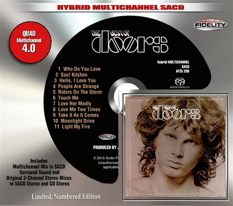 best doors songs the doors the best of the doors audio fidelity
