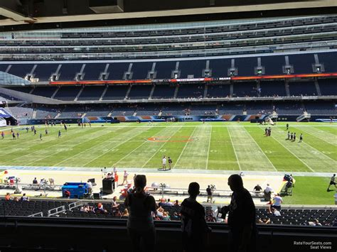 section 235 b 1 soldier field section 235 chicago bears rateyourseats com