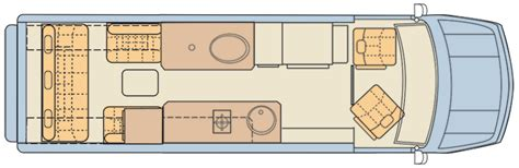 sprinter rv floor plans mercedes sprinter rv cer vans midwest automotive