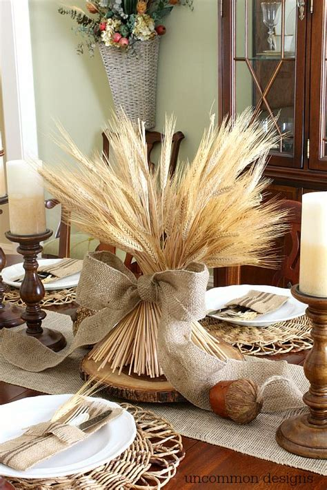 Cheap Christmas Centerpieces To Make - easy fall tablescape ideas new house new home