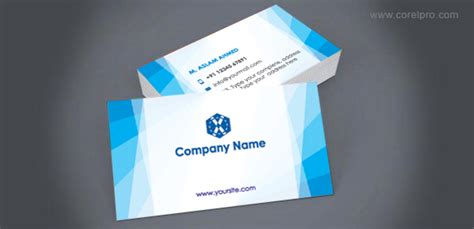 Free Visiting Card Templates For Coreldraw by Coreldraw Business Card Templates Free Choice