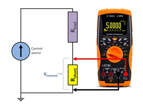 how to measure voltage across a resistor with a voltmeter measurementest test and measurement how to measure current using a shunt resistor