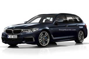 Bmw Touring 2017 Bmw G31 5 Series Touring Will Debut At The 2017