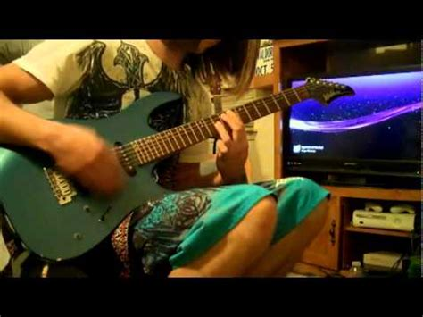 atreyu right side of the bed right side of the bed atreyu guitar cover youtube