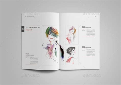 25 Really Awesome Portfolio Brochure Templates Web Graphic Design Bashooka Graphic Design Portfolio Template Indesign