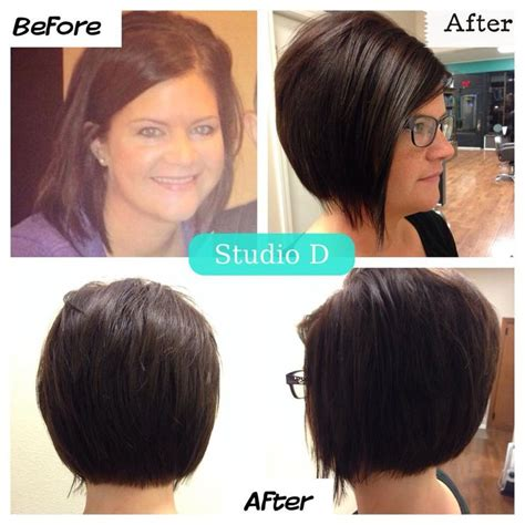 pinterest a line bob cuts studio d stacked a line bob haircut haircut pinterest