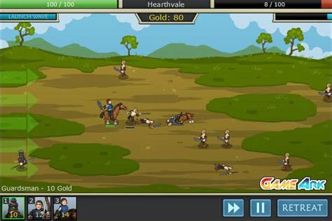 Empires of Arkeia spel - FunnyGames.be Goodgame Gangster