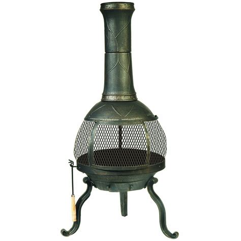 best cast iron chiminea outdoor fireplace outdoor