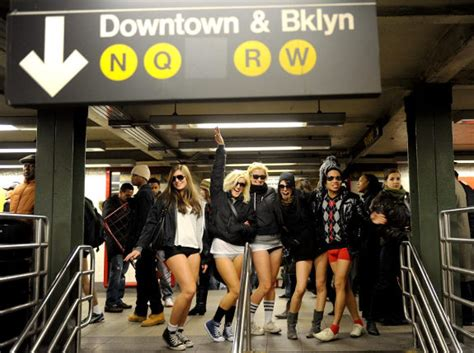 Pantless Where All The by It S No Day On Nyc S Trains And Subways Ny Daily News