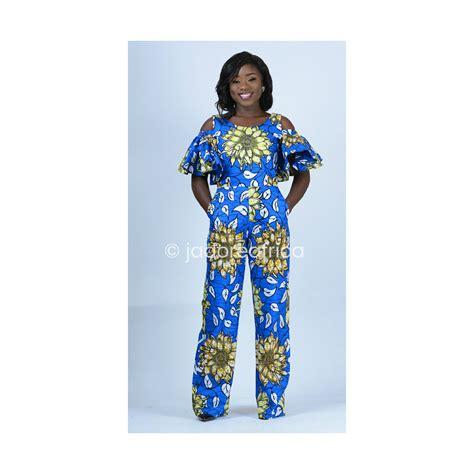jumpsuit with ankara african print jumpsuit ankara jumpsuit wide leg pants