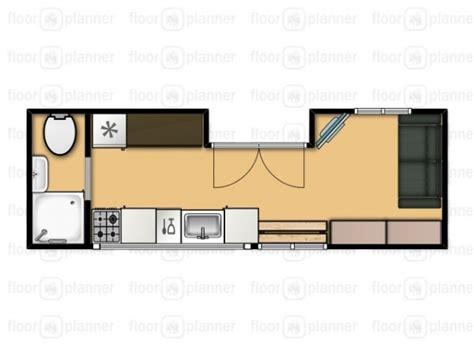 Nate And Jen S House On Wheels Living Simply And Free In Tiny House Layout Plan