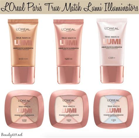 L Oreal Lumi Glow Illuminator l or 233 al true match lumi glow illuminators makeup
