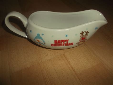 chickywiggle s christmas guides tableware - Gravy Boat Morrisons