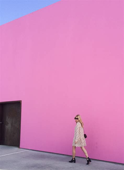 Pink Wall L by Pink Sky Ahead Food Before Fashion