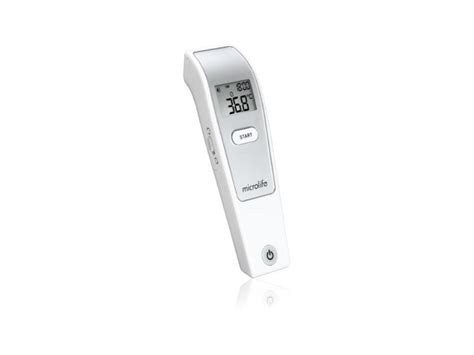Thermometer Infrared Microlife microlife nc150 infrared forehead thermometer with