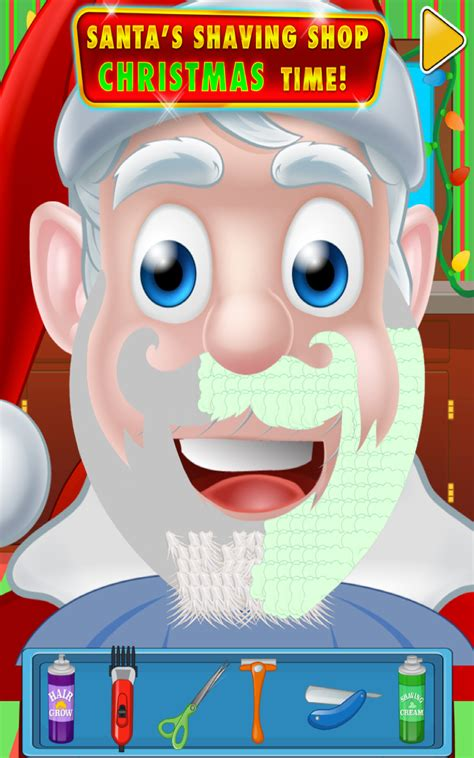 haircut games santa amazon com shave santa reindeer kids barbershop