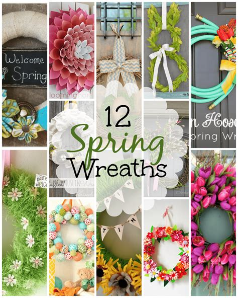 copy cat looks diy spring wreath 12 diy spring wreaths