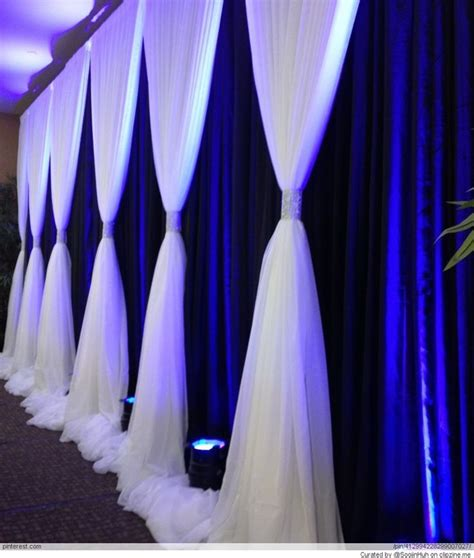 Navy Wedding Background by Wedding Backdrop With Navy Background And White Ivory